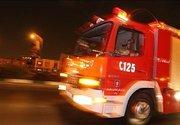آتش گرفتن پاساژ تجاری در میدان امام حسین