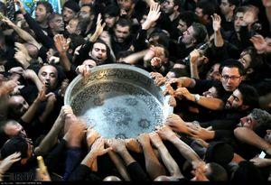 مراسم سنتی طشت گذاری در اردبیل