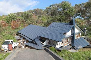 عکس/ قبل و بعد از زلزله ژاپن