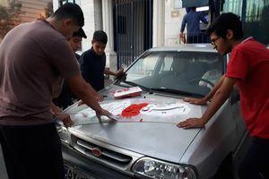 رجزهای عاشورایی؛ تنپوش خودروهای شهر
