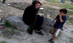 پاتوق معتادان در جوار مراکز ترک اعتیاد شهرداری +عکس