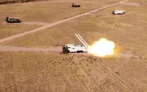 مستندات اصابت موشکهای سپاه به مواضع تروریستهای حدکا +عکس و فیلم