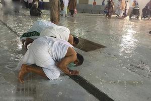 فیلم/ بارش شدید باران در مکه
