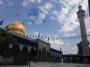 عکس/ حرم مطهر حضرت زینب(س) در روز عاشورا
