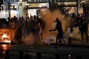 معترضان یونانی با پلیس درگیر شدند