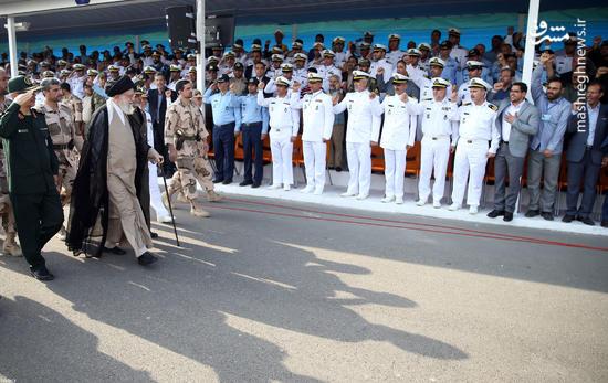 عکس/ حضور رهبر انقلاب در دانشگاه علوم دریایی نوشهر