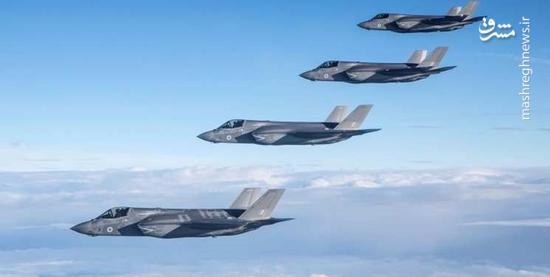 اسراییل جنگنده های اف 35 را زمینگیر کرد