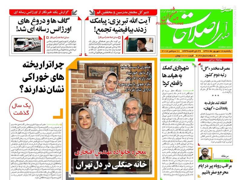 صدای اصلاحات: خانه جنگلی در دل تهران