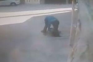 فیلم/ اقدام جنون آمیز جوان اصفهانی!
