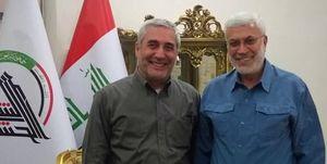 دیدار حاتمیکیا با فرمانده حشدالشعبی عراق +عکس