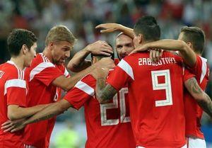 برتری پرگل روسیه مقابل جمهوری چک