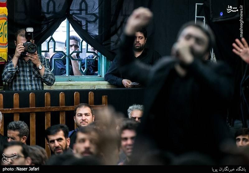 آیین سیاه پوشان در امامزاده معصوم(ع)
