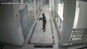 عکس/ یورش داعش به ساختمان شرکت نفت لیبی