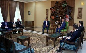 دیدار عراقچی با رئیس اجرایی دولت افغانستان در کابل