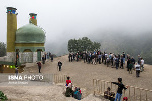 مراسم سنج زنی در شهر تاریخی ماسوله