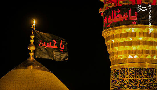 عکس/ تعویض پرچم گنبد حرم امام حسین(ع) و حضرت ابوالفضل(ع)