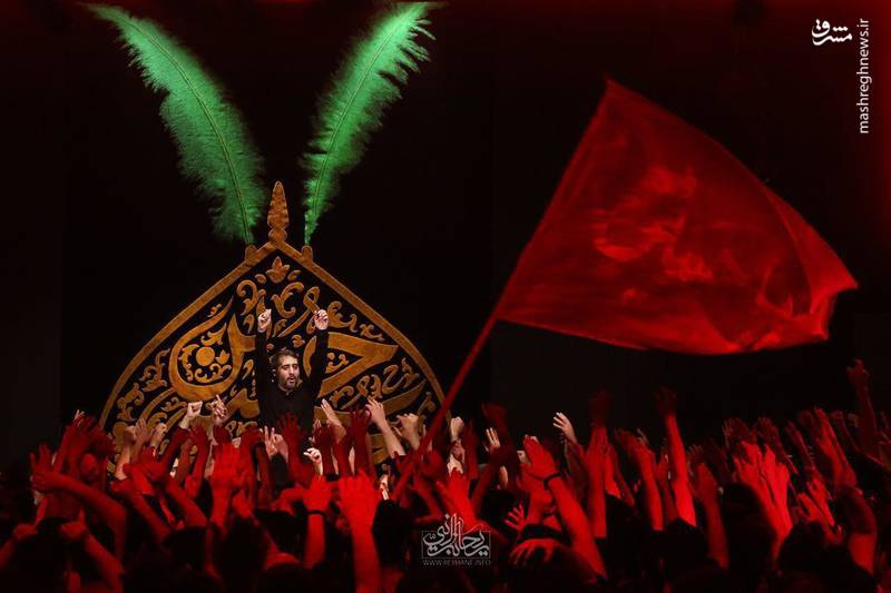 مداحی مبدأ ایوون نجف مقصد شهر کربلا کربلایی محمد حسین پویانفر