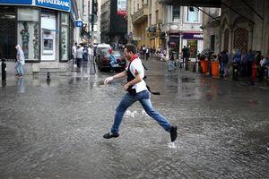 عکس/ بارش باران تابستانی در ترکیه,