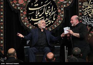 مراسم عزاداری شب دوم محرم در مسجد ارک تهران منصور ارضی و نریمان پناهی