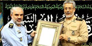 معارفه امیر شاه صفی به عنوان جانشین معاون هماهنگ کننده ارتش,