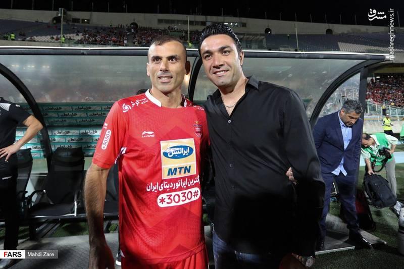 دیدار پرسپولیس - نساجی مازندران