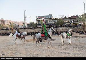 حرکت نمادین ورود کاروان امام حسین (ع) به کربلا و اجرای تعزیه- یزد
