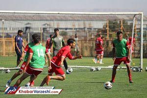 عکس/ اولین تمرین رسمی احسان حاج صفی با تراکتورسازی