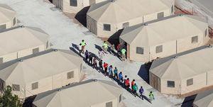 بازداشت حدود ۱۳۰۰۰ کودک مهاجر در آمریکا