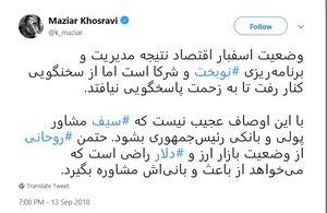 روحانی از وضعیت بازار ارز راضی است؟!