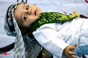 عکس/ آئین شیرخوارگان حسینی در اردبیل
