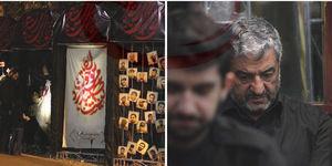عکس/حضور سردار جعفری در هیئت میثاق با شهدا