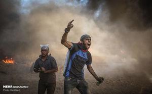راهپیمایی بازگشت در نوار غزه