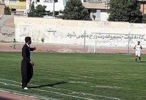 عکس/ پوشش غیرمتعارف یک مربی در جام حذفی