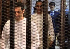 صدور حکم دستگیری پسران حسنی مبارک