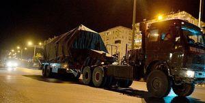 ورود تجهیزات نظامی ترکیه به غرب استان «حماه»