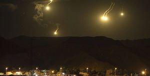 حمله موشکی رژیم صهیونیستی به فرودگاه دمشق سوریه