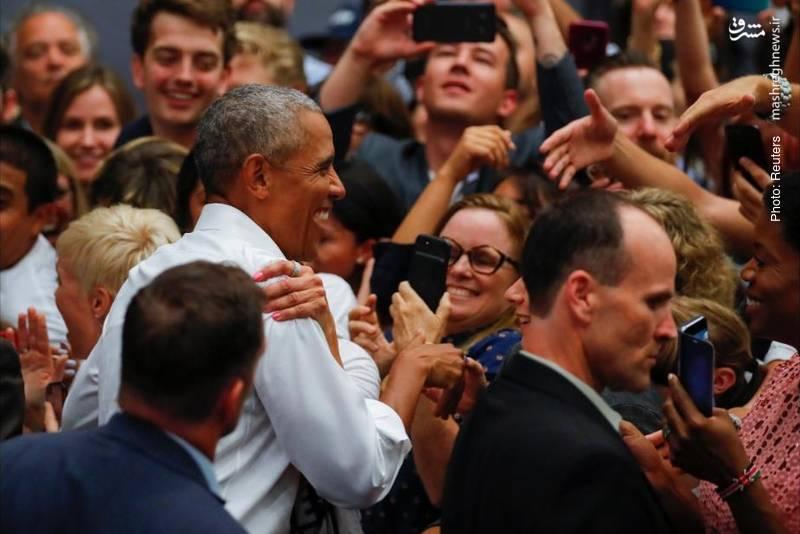 حزب دموکرات آمریکا در تبلیغات انتخابات کنگره از محبوبیت اوباما بهره می گیرد، به ویژه اینکه باراک با خرابکاریهای ترامپ به انتخابات ریاست جمهوری 2020 نظر دارد.