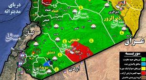جزئیات حمله جنگنده های رژیم صهیونیستی به حومه فرودگاه بین المللی دمشق + نقشه میدانی و فیلم