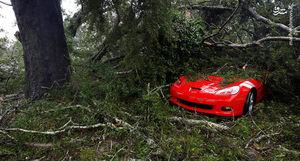 خسارت طوفان به خودروها در آمریکا
