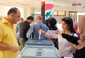 عکس/ انتخابات شوراها در سوریه