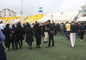 مراسم تشییع پیکر مرحوم غلامنژاد +عکس