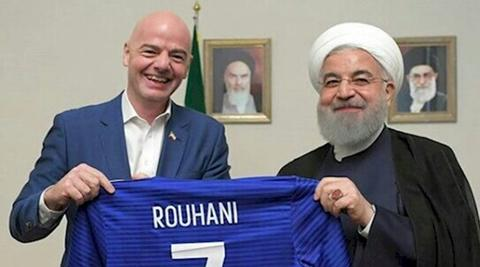 آقای روحانی وعده به اینفانتینو را فراموش کردید؟