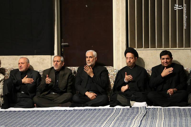 اولین شب عزاداری در محضر رهبر انقلاب
