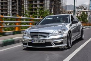 Mercedes Benz S500   مرسدس بنز اس کلاس با کاور کروم