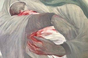 فیلم/ اشکهای مرد مسیحی برای شش ماهه کربلا