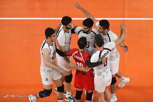 حریفان تیم ملی والیبال ایران در مرحله دوم