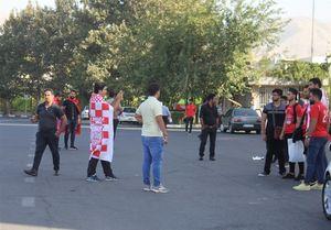 حضور هواداران پرسپولیس در آزادی +عکس