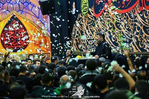 صوت/ روز ششم محرم با نوای حاج سعید حدادیان
