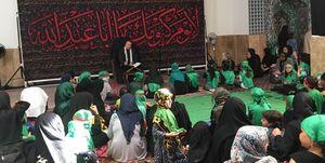 شیرخوارگان آلمانی در مراسم روضه علی اصغر (ع) +عکس