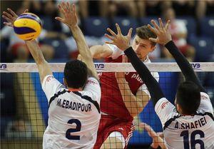 شکست تیم ملی والیبال ایران مقابل لهستان/ صدر جدول از دست رفت